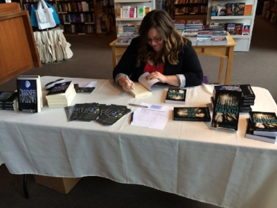 Chapters indigo book store signing event