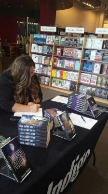 Emerald signing at chapters indigo