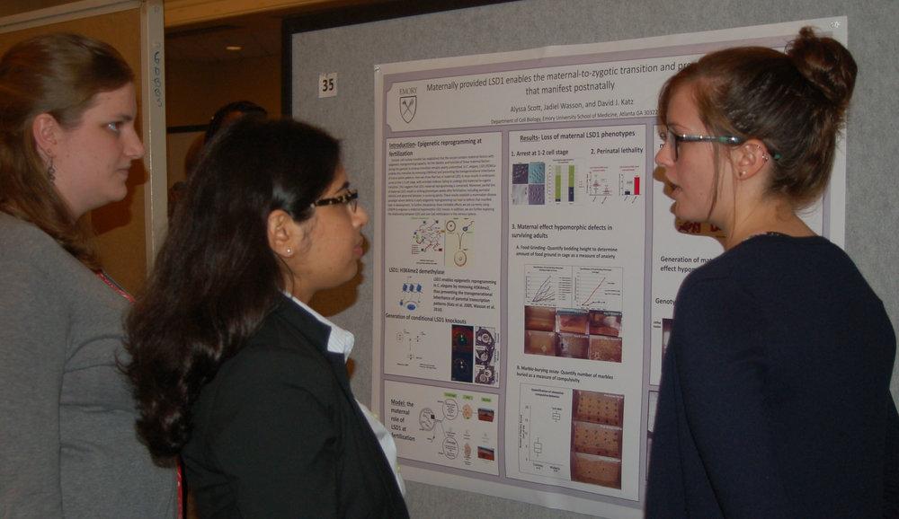Alyssa Scott (Genetics and Molecular Biology)