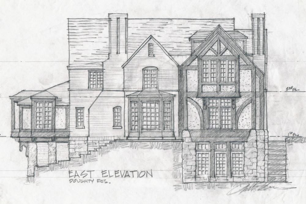 Luther Paul Weber Heavy Timber Tudor Sketch 3