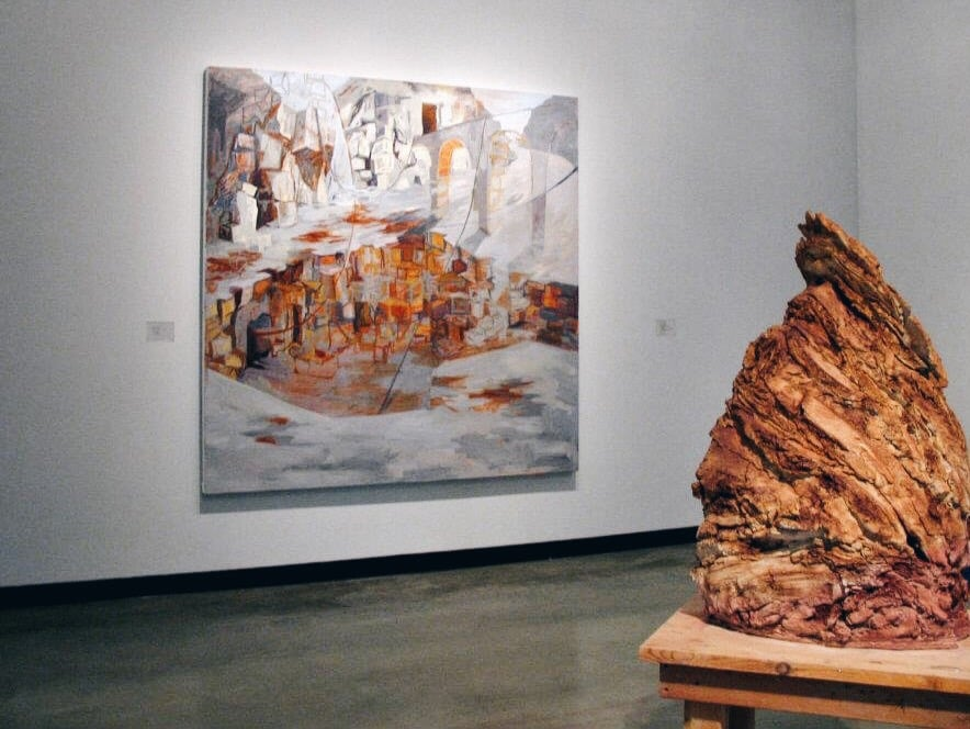 """Si Cicatrizza"" on view at  Insights , 2012"