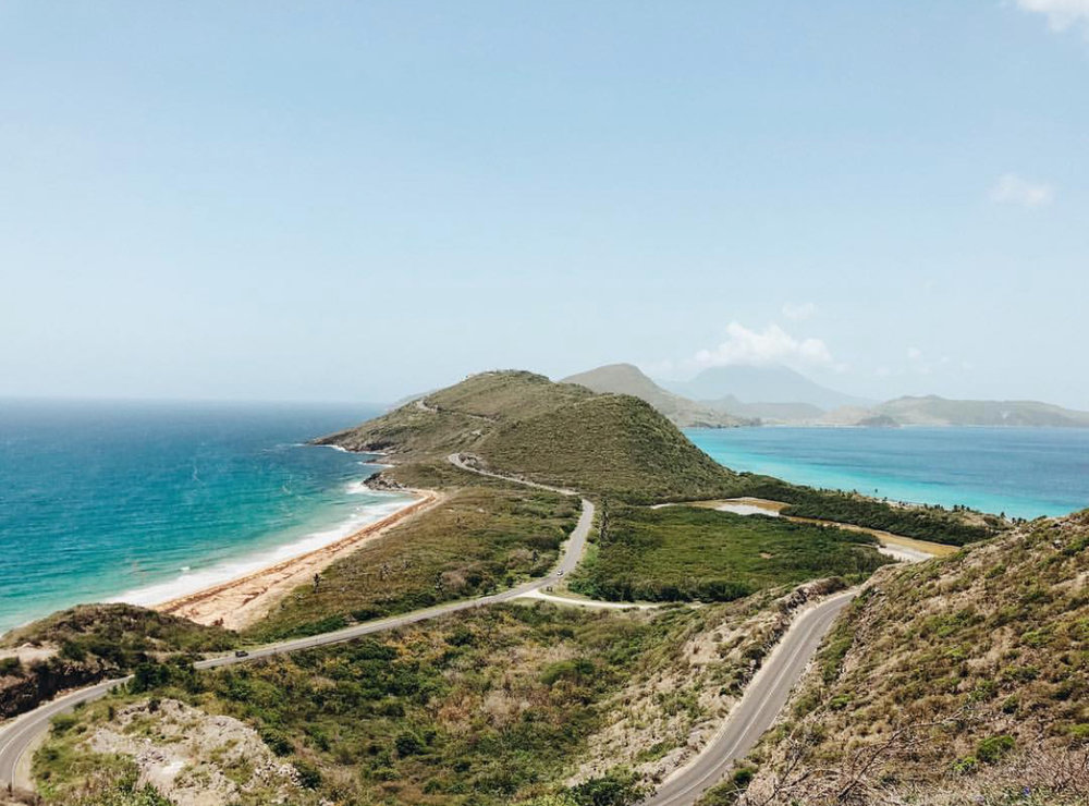 the island of st. kitts -