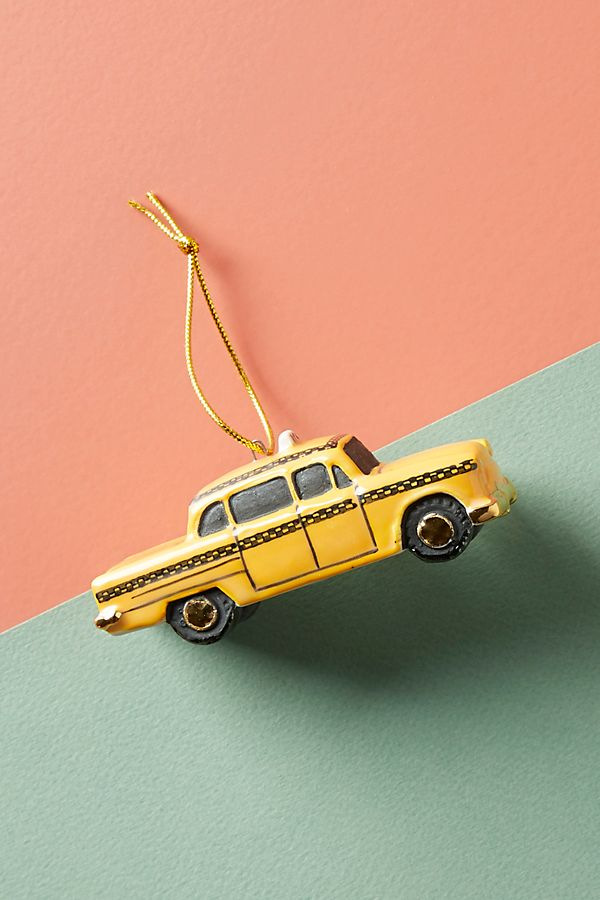 yellow taxi ornament-must have christmas ornaments-caitlin elizabeth james-blog.jpeg