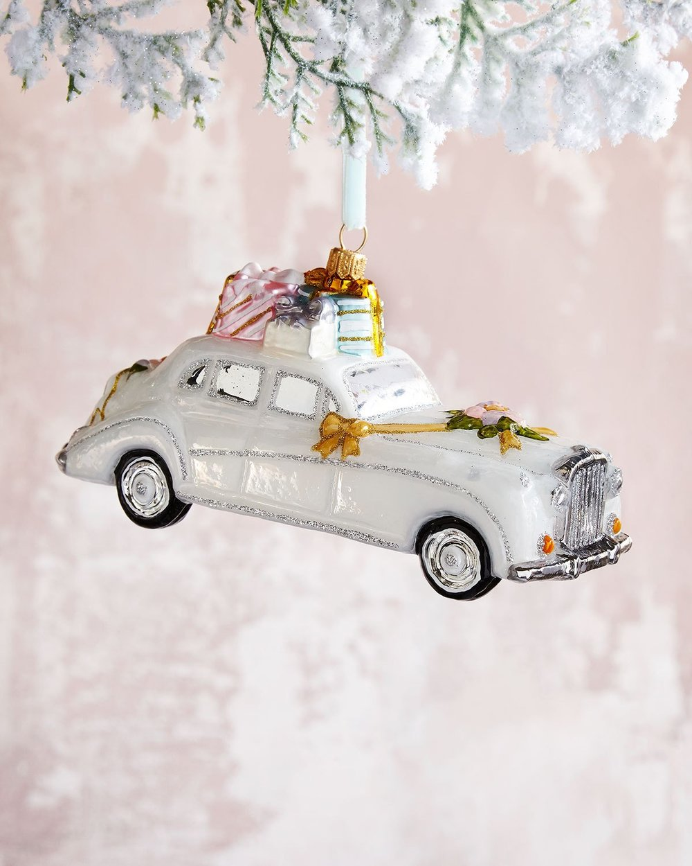 wedding car ornament-must have christmas ornaments-caitlin elizabeth james-blog.jpg