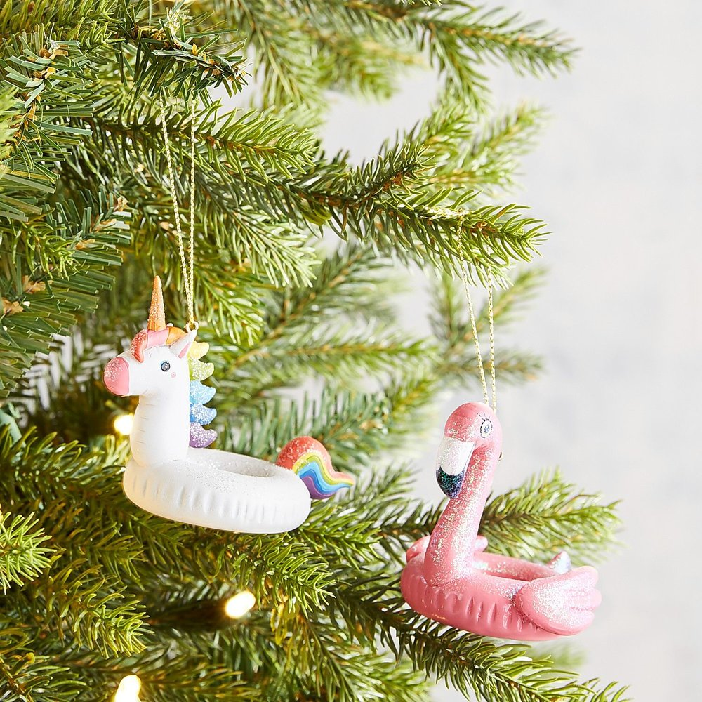 flamingo unicorn float-must have christmas ornaments-caitlin elizabeth james-blog.jpg