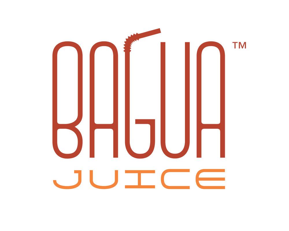 Logo for a juice bar