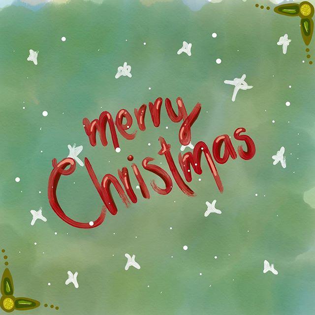 🎄 M E R R Y C H R I S T M A S 🎄 - - - - #chrismtas #merrychristmas #navidad #feliznavidad #wishes #doodle #quick #artedelunapoumian #ipaddoodle #ipen #adobedraw #green