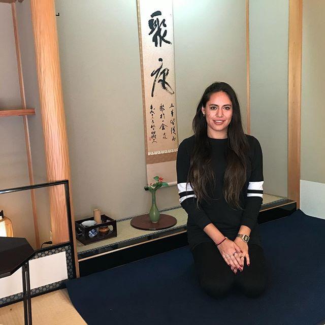 Tea ceremony 🍵 // Tokio 🇯🇵 2018 // . . #travelers #travel #friends #tokyo #tokio #japan #instatravel #tea #ceremony #lunadetour #greentea #kyoto #japon #japan #teavelgirl