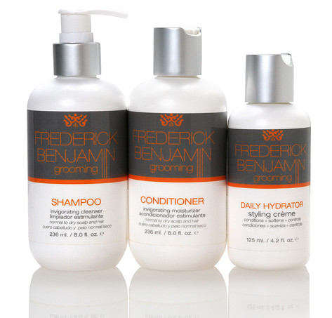 Frederick Benjamin Shampoo, Conditioner, and Daily Hydrator Creme