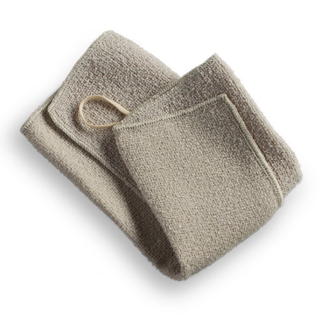 Aquis - Exfoliating Wash Cloth $15