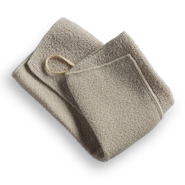 Aquis - Exfoliating Wash Cloth $15