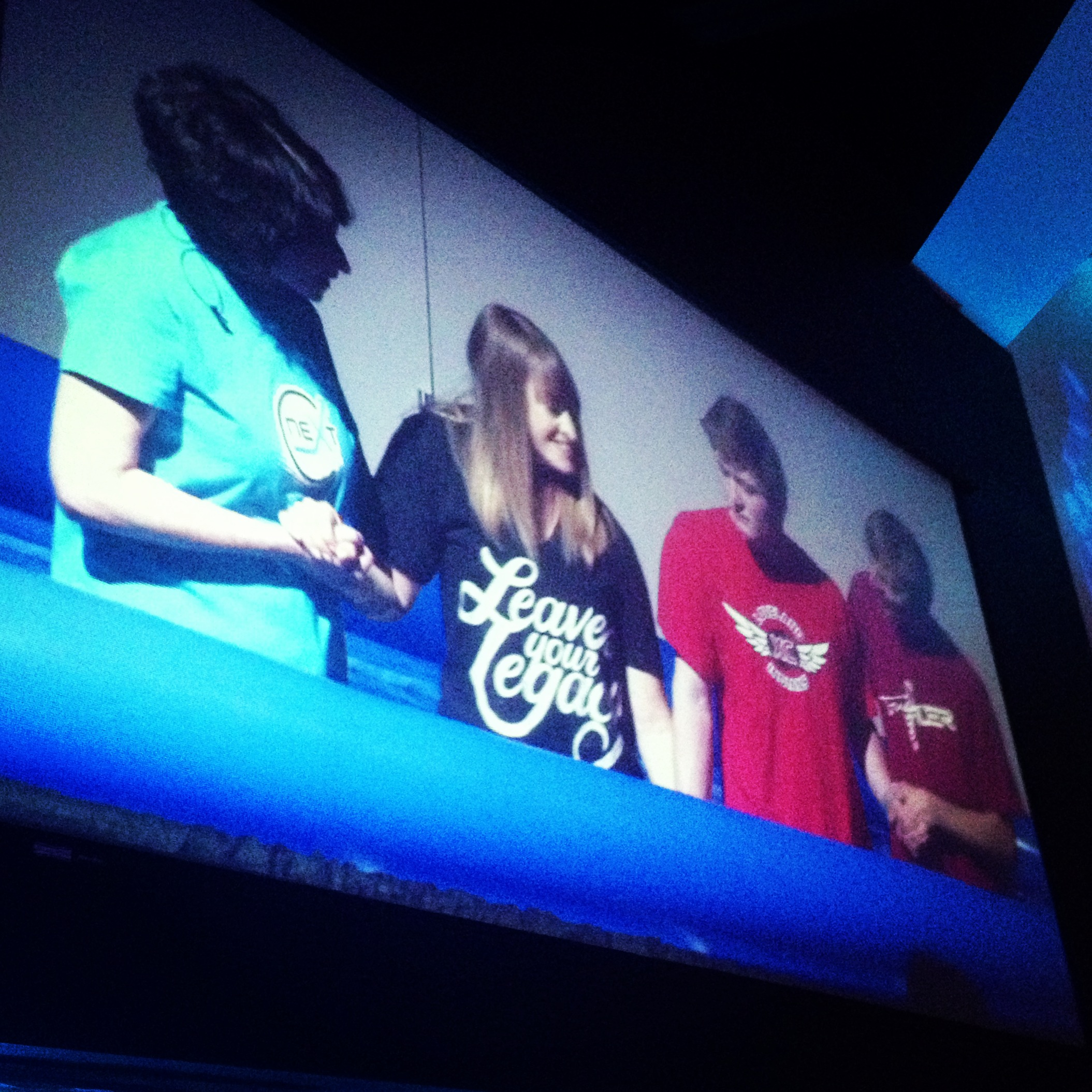 Bailey & his mom Jennifer getting baptized this weekend!