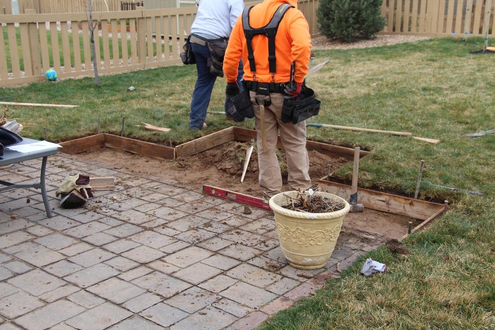 Preparing for concrete