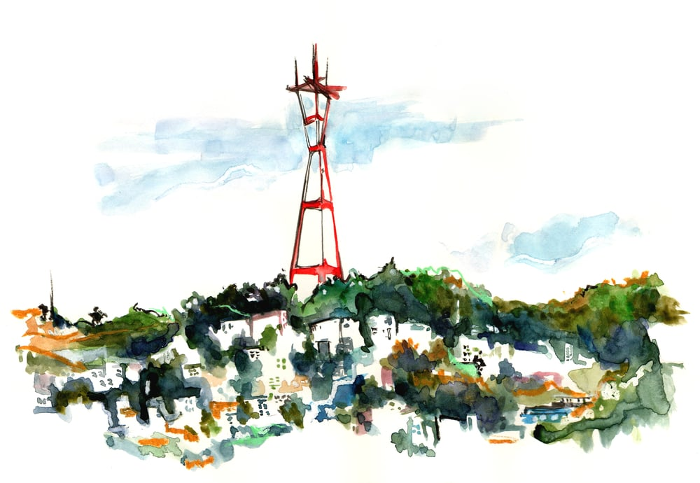 SUTRO TOWER / SAN FRANCISCO, CA