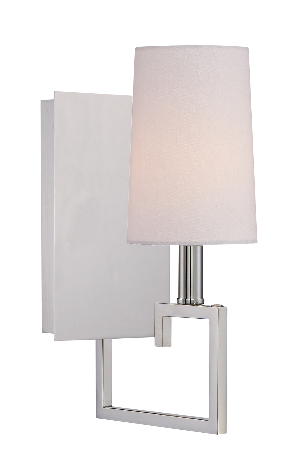 Westwood 1 Light Nickel Sconce