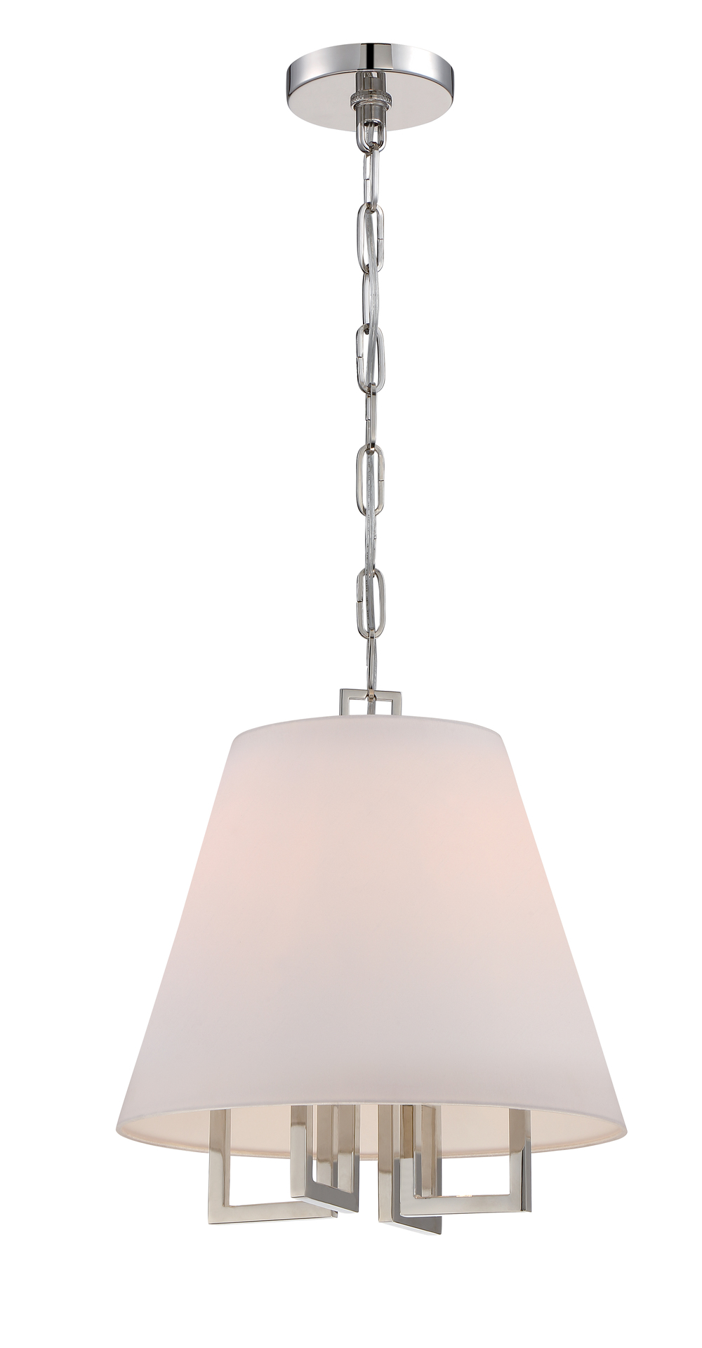 Westwood 4 Light Nickel Pendant