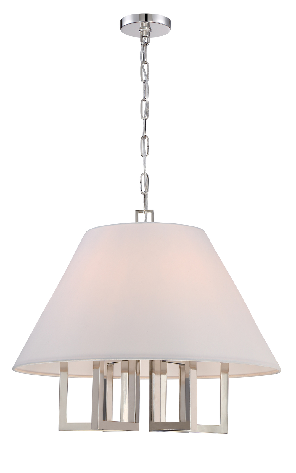 Westwood 6 Light Polished Nickel Chandelier