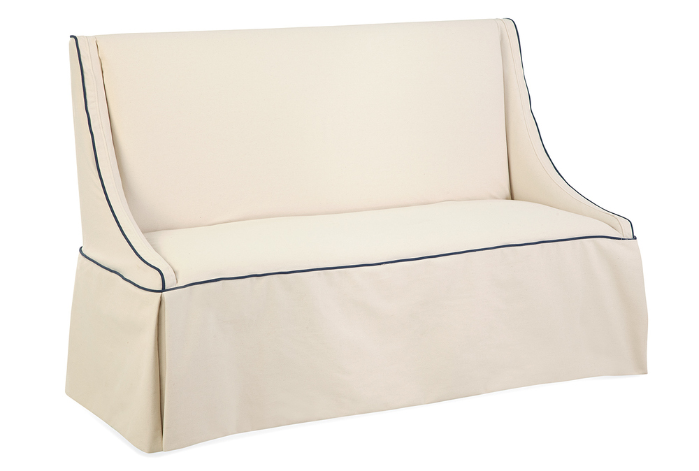 Mitchell Settee with Slipcover