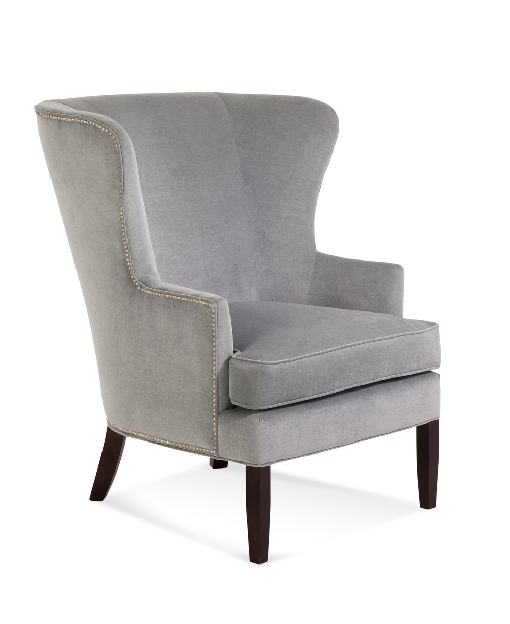 Tredwell Chair with Small Nailheads