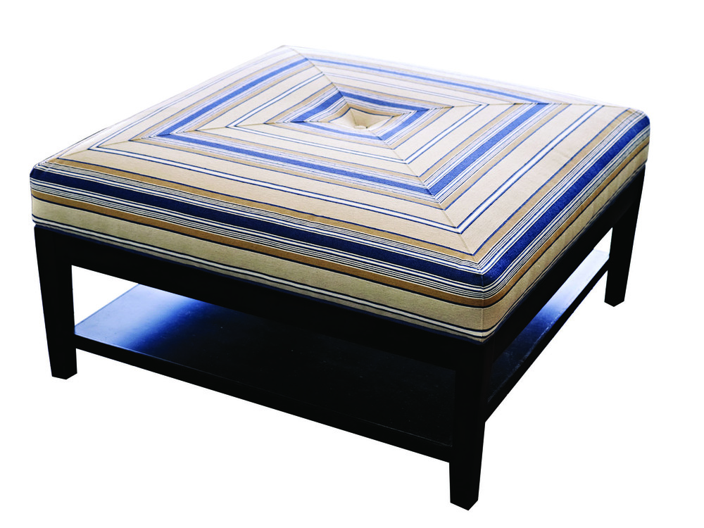 Taylor Ottoman with Button