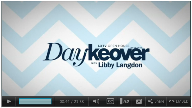 What a difference a day can make! Libby Langdon makes drastic interior transformations, in just one day.