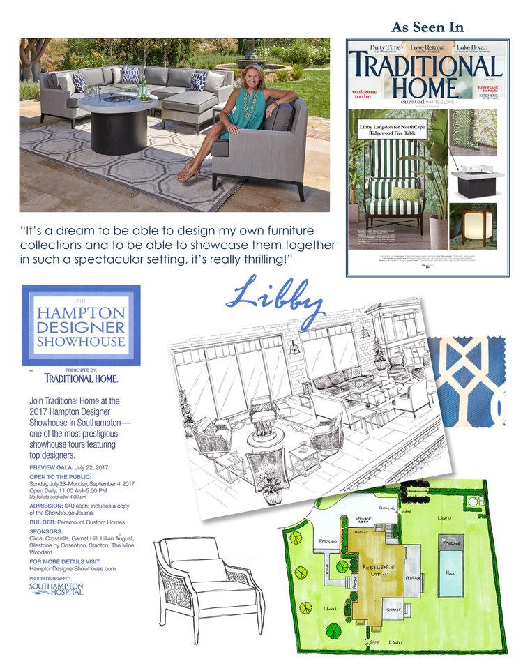 Libby Langdon at the Traditional Home 2017 Hampton Designer ... on hampton designer bedrooms, hampton home, hampton design,