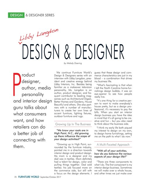 furniture world feature october 2017 page 002 1jpg - Libby Langdon Furniture