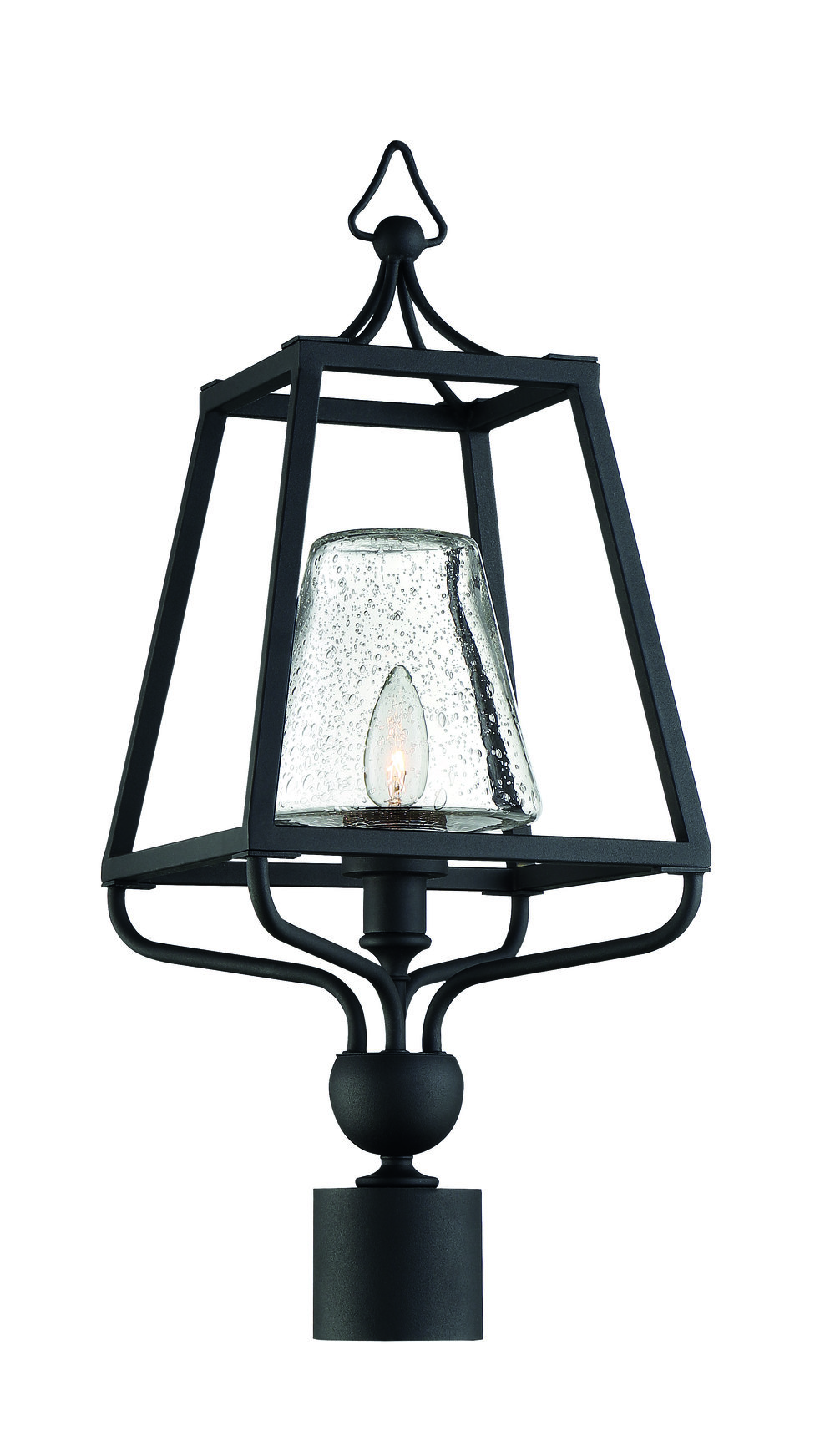 Sylvan 1 Light Black Forged Small Post