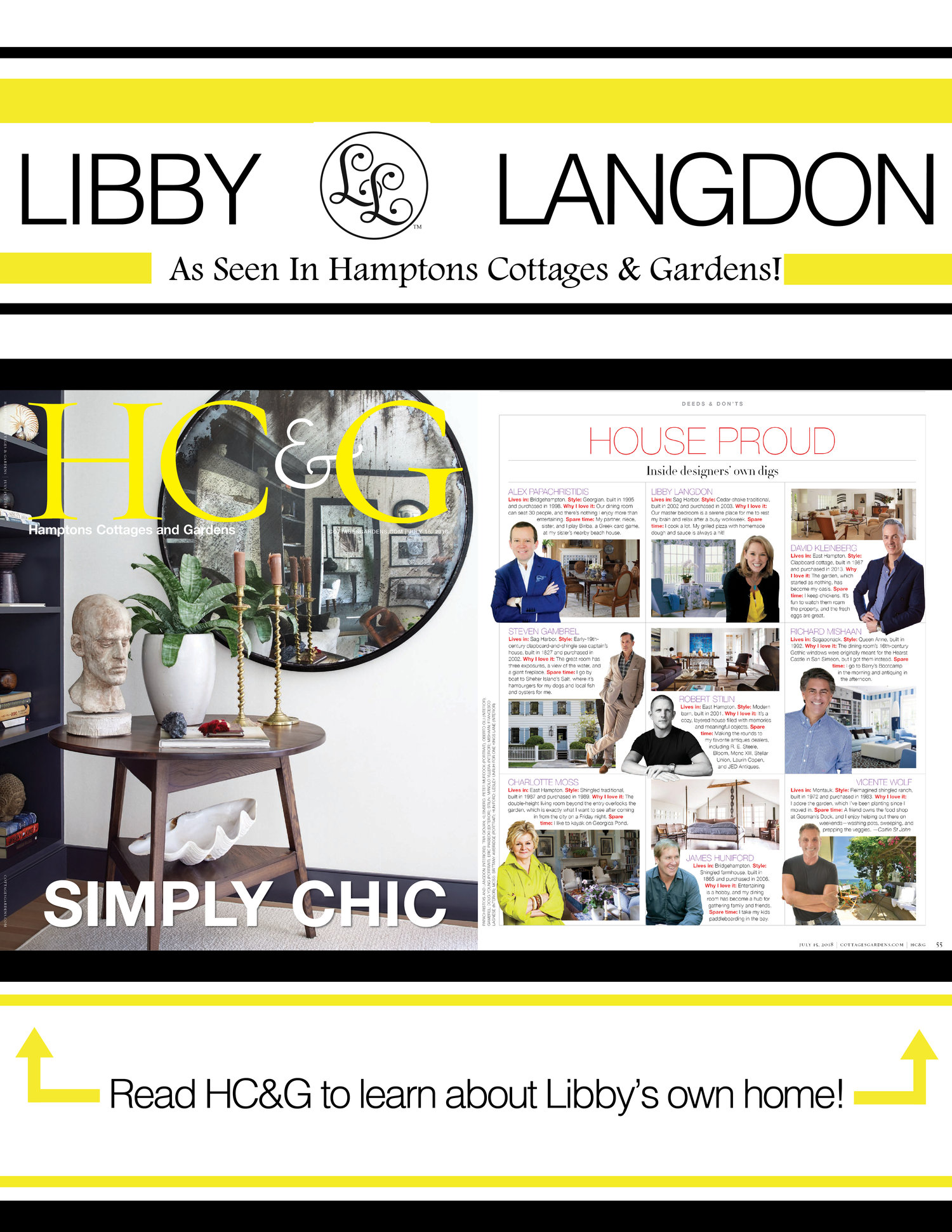 C&G Media Group Includes Libby in This July's Hamptons