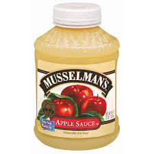 Musselman's: for that bottom of the table taste.
