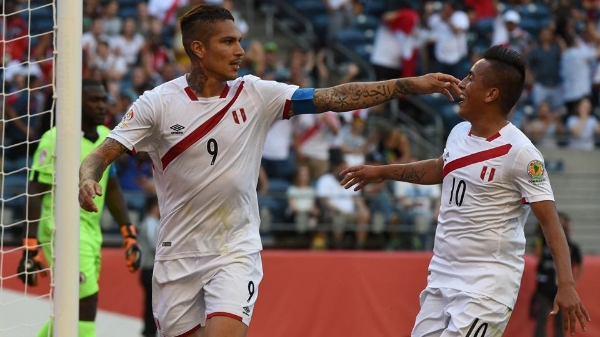 Peru's all time leading goal scorer, Paolo Guerrero