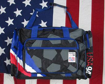 Official bag. Official capacity: one live Cobi Jones.