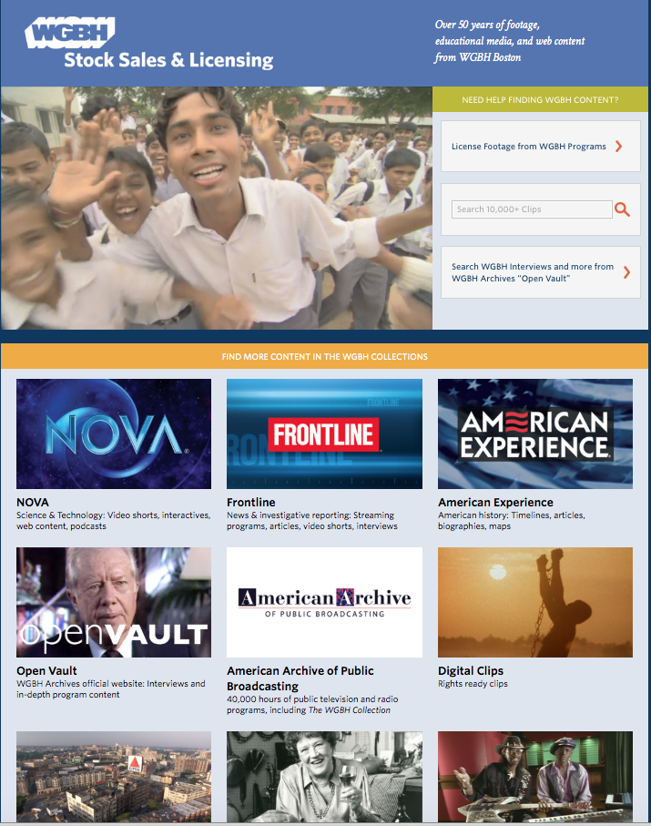 Selected Video Clips Collection Page