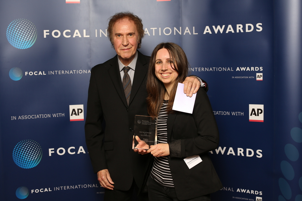 Ray Davies of the Kinks with Caroline Richards, Editor of  Imagine: The Ecstasy of Wilko Johnson.