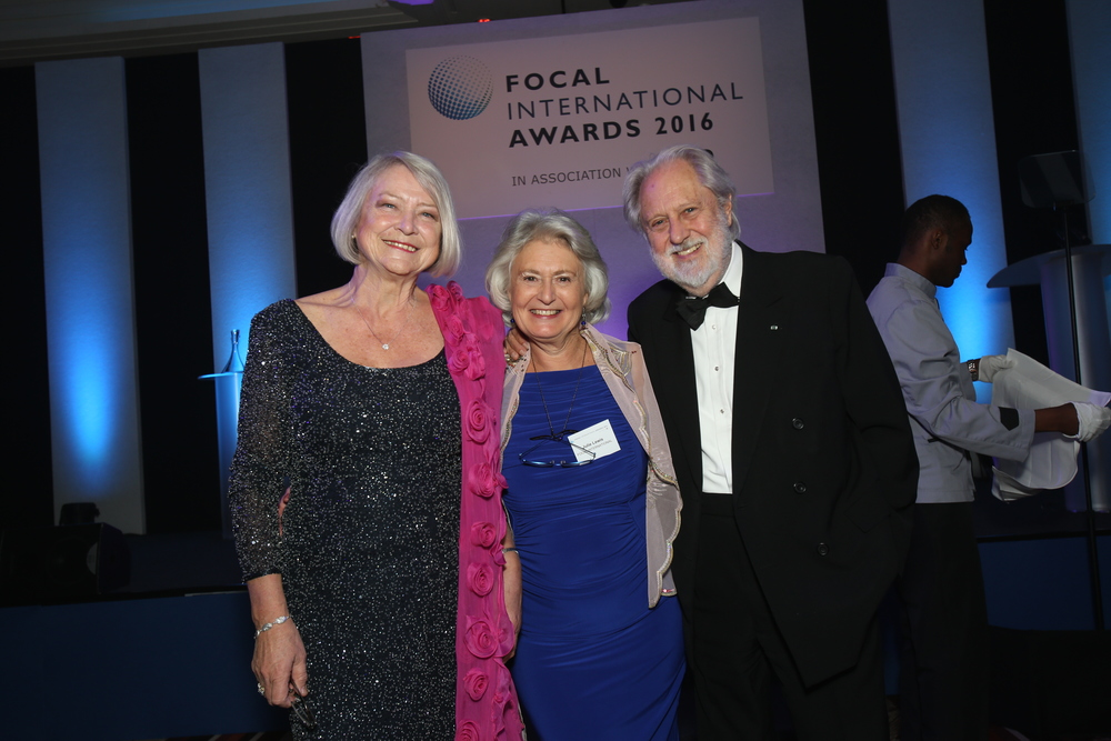 Kate Adie, Julie Lewis and Lord Puttnam.