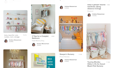 Pinterest inspiration I screenshot for Mezi