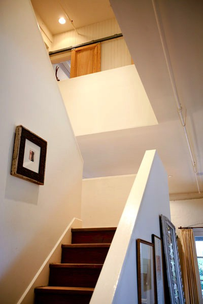 Atchison Loft Staircase