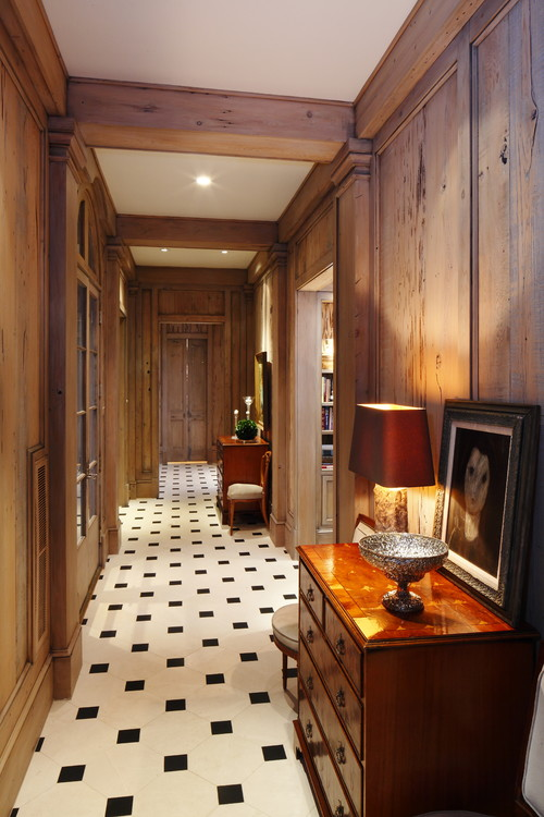 Thomas House Paneled Hallway