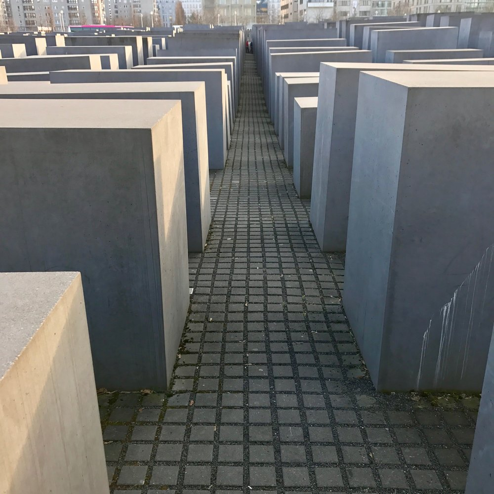 One of the many memorials dedicated to the Jews who lost their lives during the Holocaust.