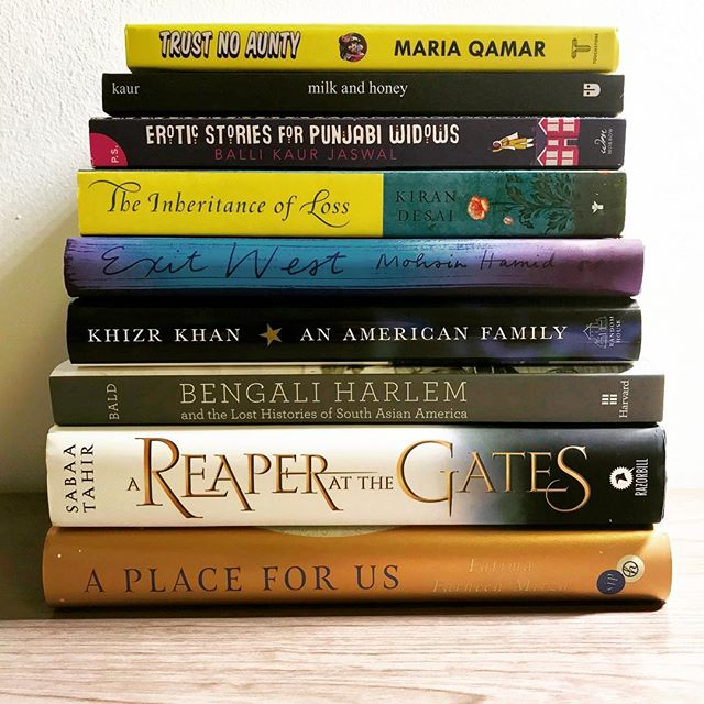 Happy #NationalBookLoversDay! This year we wanted to highlight some of our fav South Asian authors! Which one is your favorite? . . . #bookstagram #booklover #bookloversday #trustnoaunty #milkandhoney #exitwest #inheritanceofloss #khizrkhan #bengaliharlem #reaperatthegates #aplaceforus #bibliophile #txlege #southasians #desis #wiseup #book #politics #fiction #nonfiction