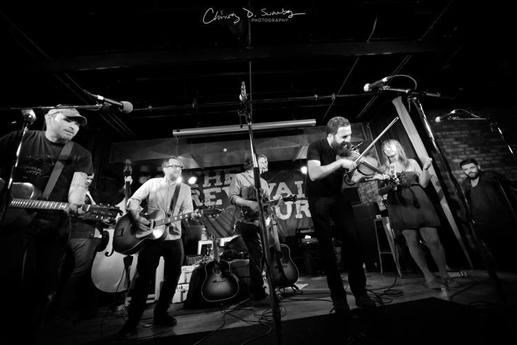 """Chuck Ragan's """"Revival Tour"""" 2012, Commonwealth, Calgary AB, Photo by Christy D. Swanberg"""