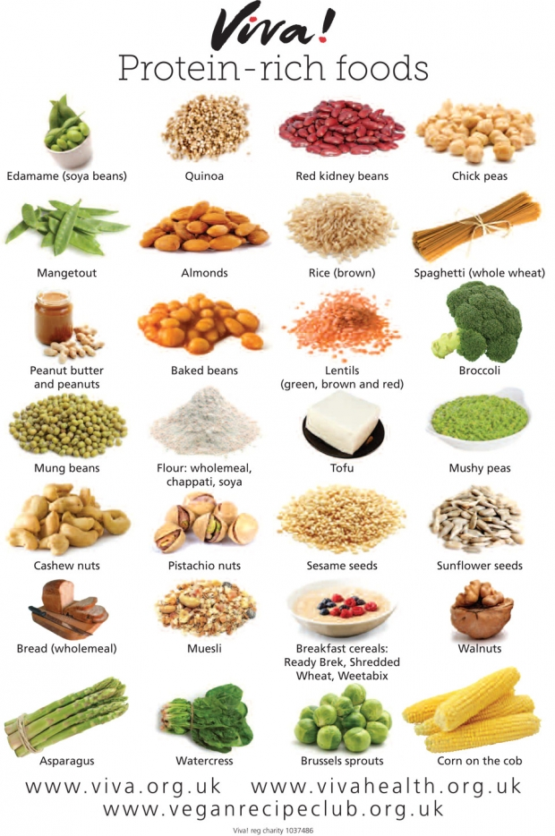 vegan protein rich foods � forking fit