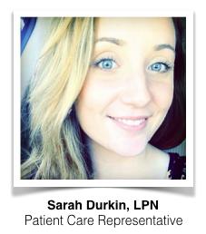 Sarah Durkin Patient Care Coordinator