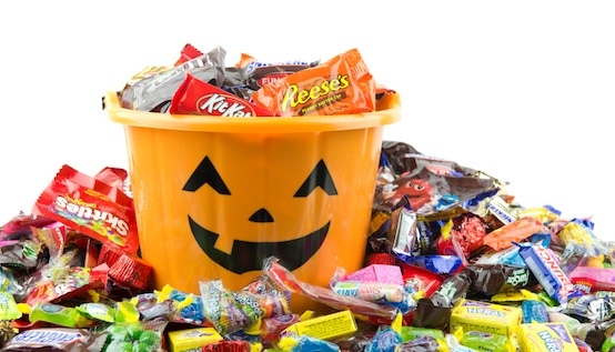 Overindulging in Halloween candy can wreak havoc on your body's systems.