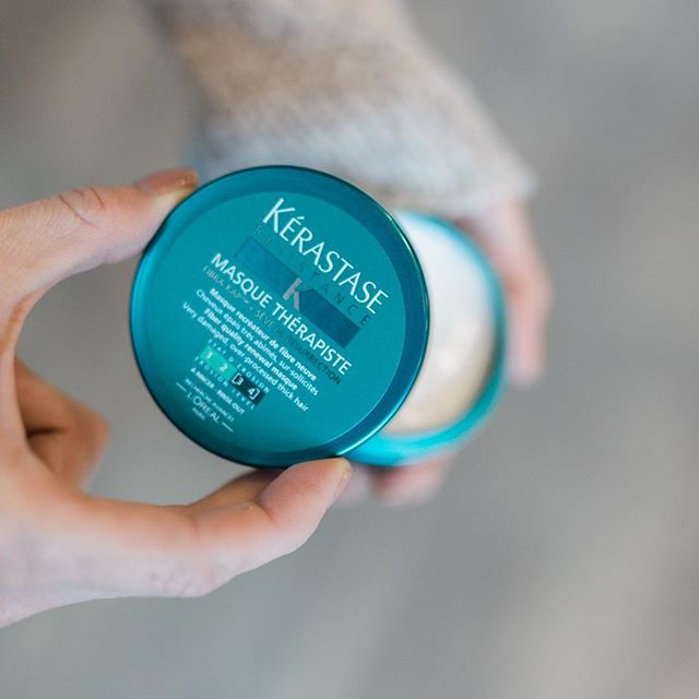Sundays are for Netflix & Hair Masques. 💛 #kerastase #haircare #kchairstylist