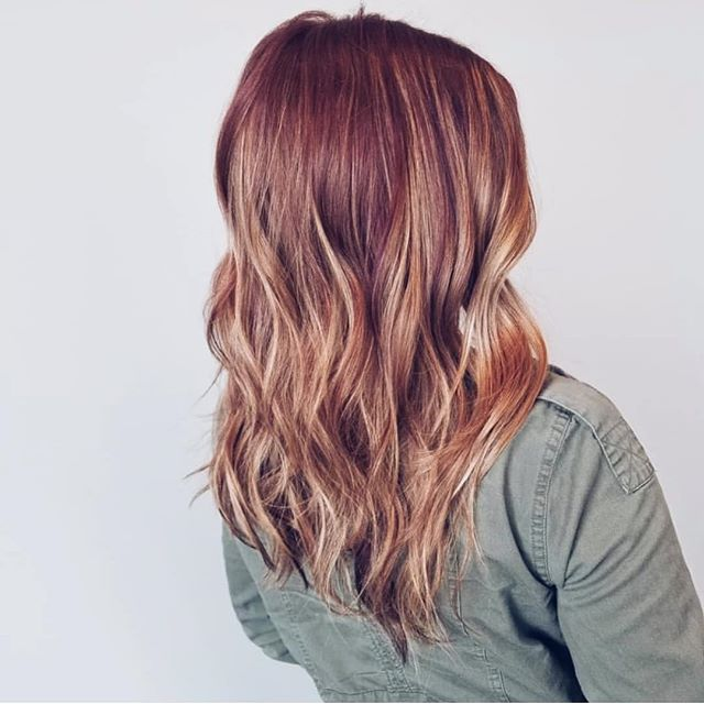 Spice it up. Color by @hairbyabigailtayte. ✨ #aristagirl #redhead #kchairstylist