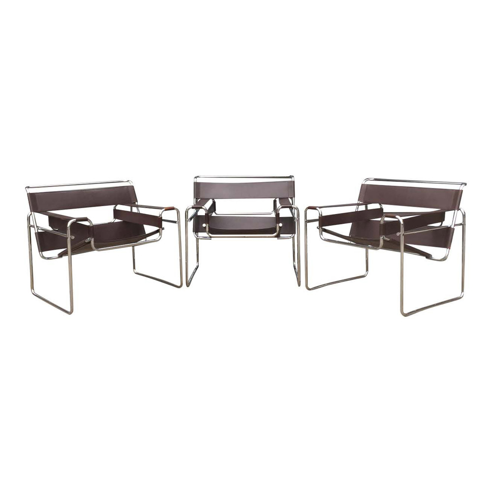 Beau Authentic Wassily Chairs By Marcel Breuer For Gavina And Knoll U2014 Samuel Ivan