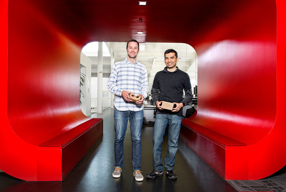 Kurt Wilms and Husain Bengali, product managers for YouTube.