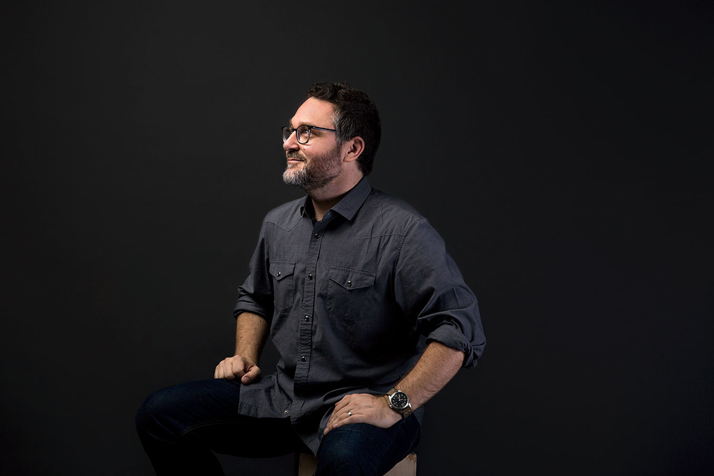 Colin Trevorrow, director of Jurrasic World.