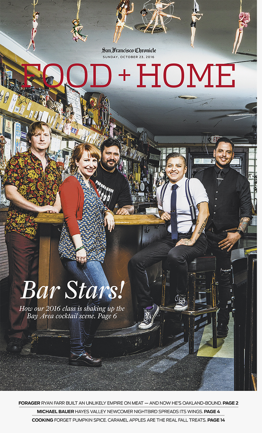 Bar Stars for the San Francisco Chronicle.